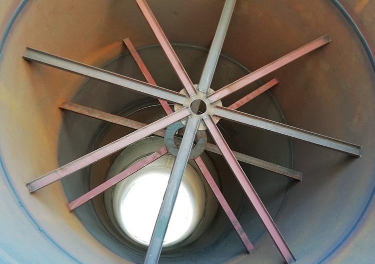 钛白粉回转窑内部结构图